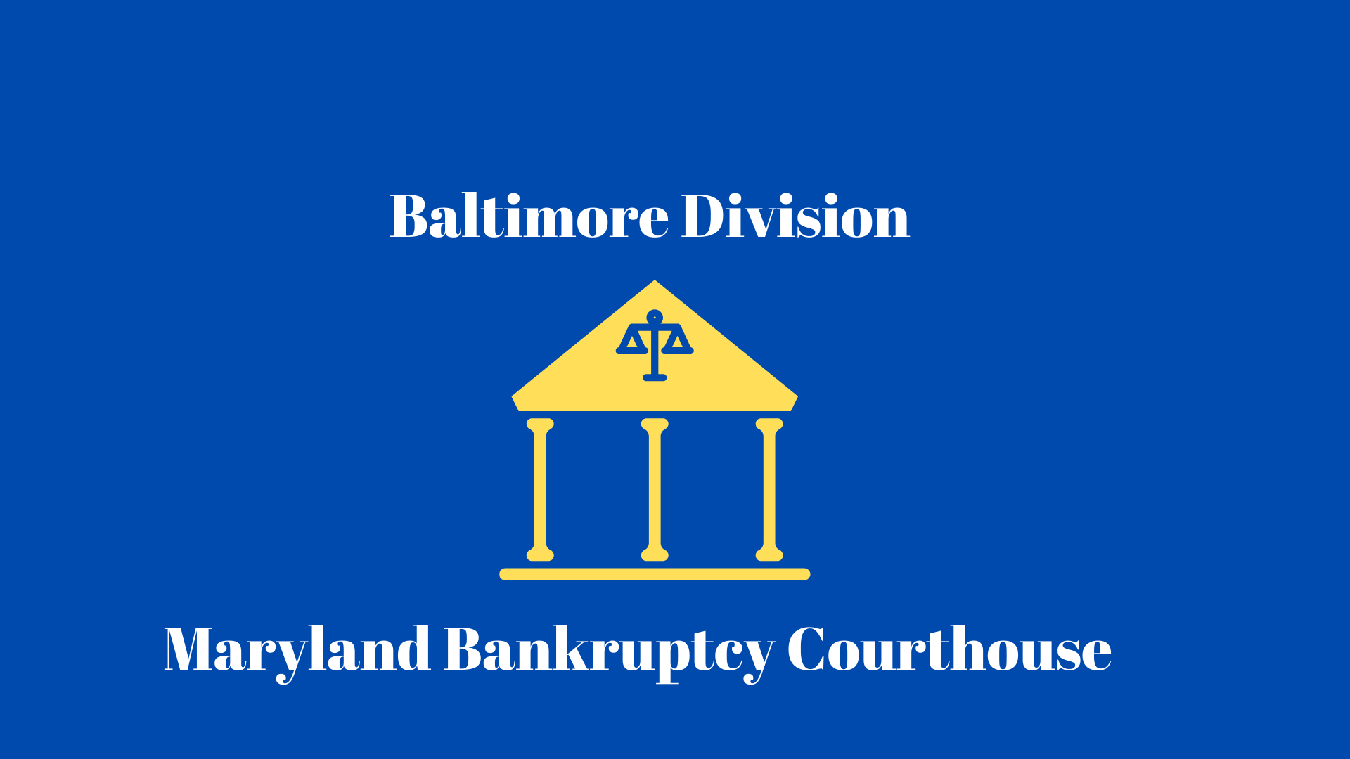 Md bankruptcy court